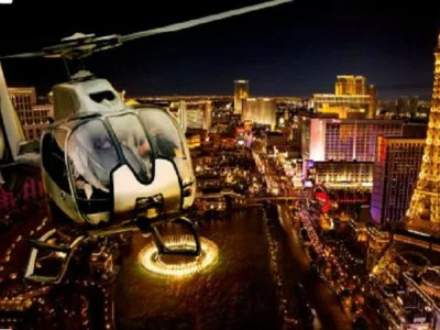 Vegas Night Out Las Vegas Night Flight and Dinner for Two