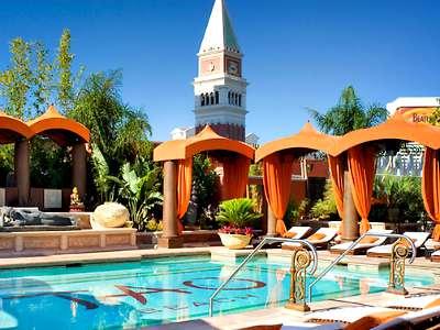 Pools at the Venetian Hotel in Las Vegas