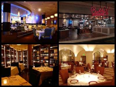 Restaurants at the Venetian Hotel in Las Vegas