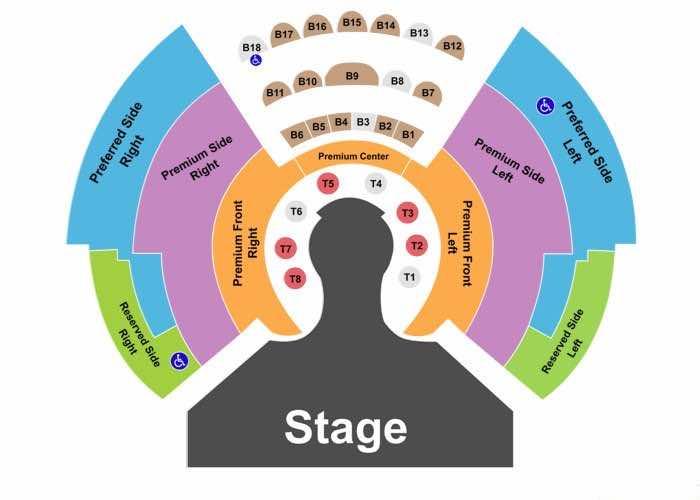Wow Las Vegas seating chart