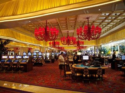 Casino at Wynn Hotel in Las Vegas