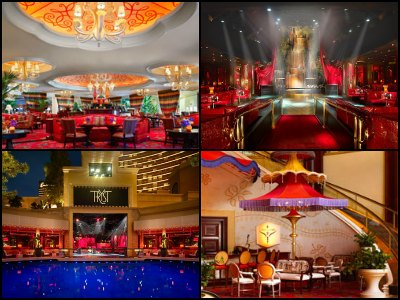 Nightlife at Wynn Hotel in Las Vegas