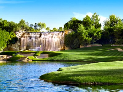 Golf Course at Wynn Hotel in Las Vegas