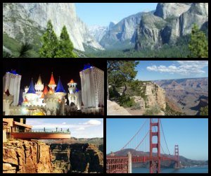 6-Day Tour - Las Vegas, Grand Canyon, San Francisco, Yosemite and Silicon Valley