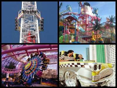 Amusement parks in Las Vegas