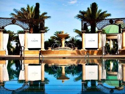 Las Vegas Azure Pool Club At Palazzo Hotel