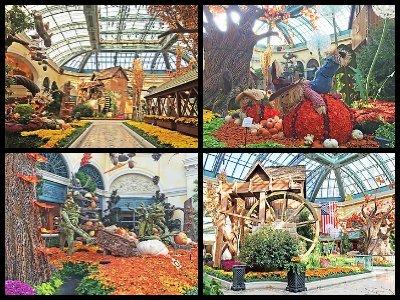 Conservatory & Botanical Gardens at Bellagio Hotel in Las Vegas