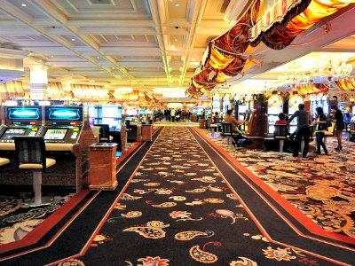 Casino at Bellagio Hotel in Las Vegas