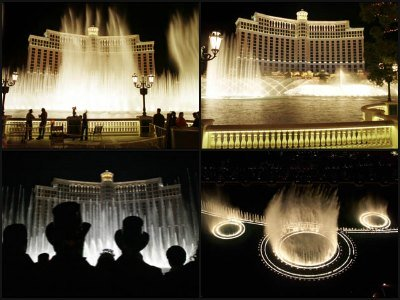The Fountains of Bellagio at Bellagio Hotel in Las Vegas