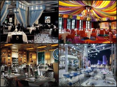 Restaurants at Bellagio Hotel in Las Vegas