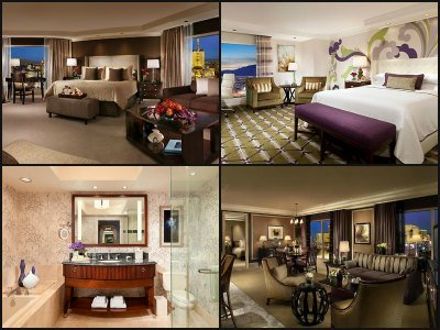 Rooms at Bellagio Hotel in Las Vegas