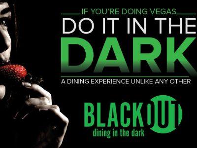 Blackout Dining in the Dark in Las Vegas