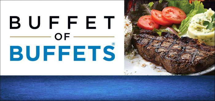 Buffet of Buffets Pass Las Vegas  Prices for 2019