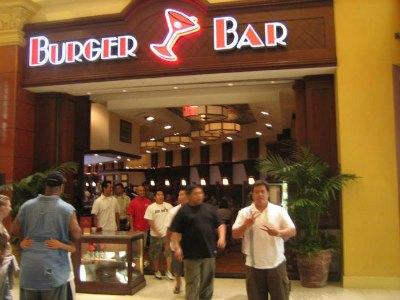 Burger Bar Las Vegas