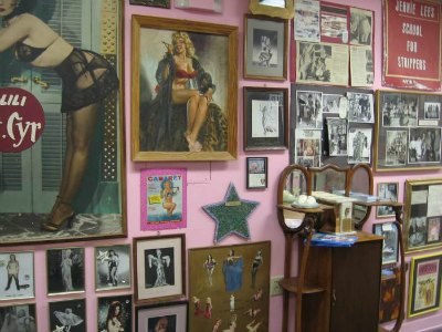 Burlesque Hall of Fame in Downtown Las Vegas