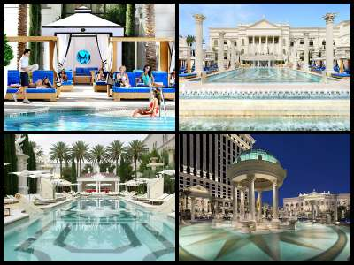 Caesars Palace Las Vegas pools