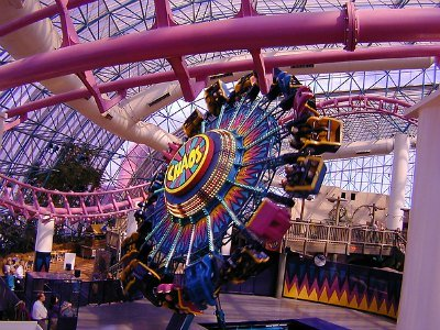 Chaos at Adventuredome Las Vegas