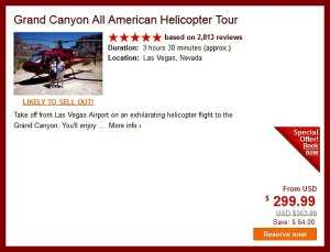Cheap Las Vegas Helicopter tour