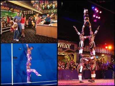 Circus Acts in Las Vegas