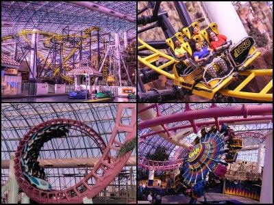 The Adventuredome in Circus Circus Hotel in Las Vegas