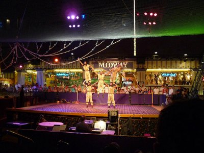 Circus Circus Carnival Midway in Las vegas with Kids