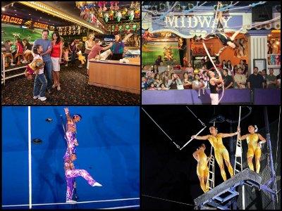 Entertainment at Circus Circus Hotel in Las Vegas