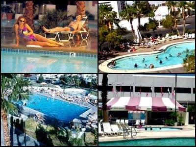 Pools at Circus Circus Hotel in Las Vegas