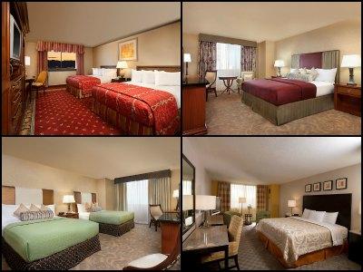 Rooms at Circus Circus Hotel in Las Vegas