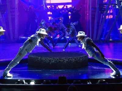 Mkichael Jackson Las Vegas show
