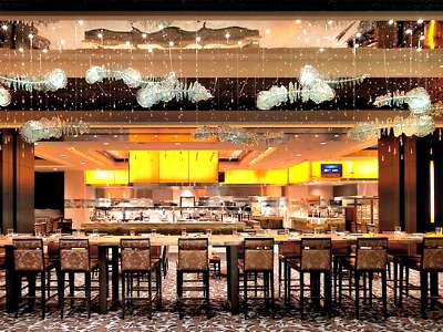 Buffet at the Cosmopolitan Hotel in Las Vegas