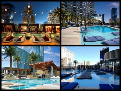 Cosmopolitan Las Vegas pools
