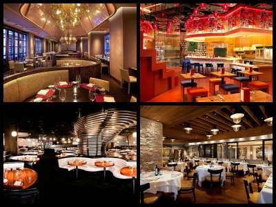 Restaurants at the Cosmopolitan Hotel in Las Vegas