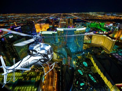 Deluxe Las Vegas Helicopter Flight with VIP Transportation