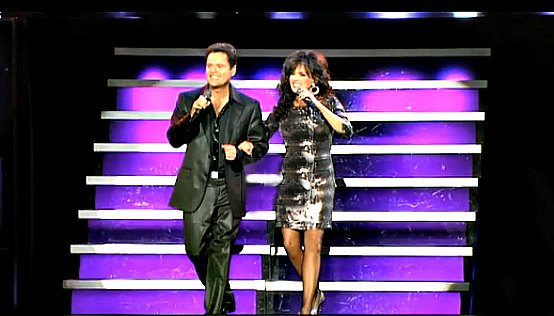 Donny and Marie Osmond in Las Vegas