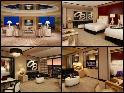 Rooms at Encore Hotel in Las Vegas