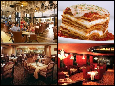 Restaurants at Excalibur Hotel in Las Vegas