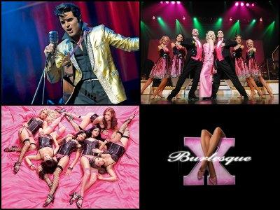Entertainment at the Flamingo Hotel in Las Vegas