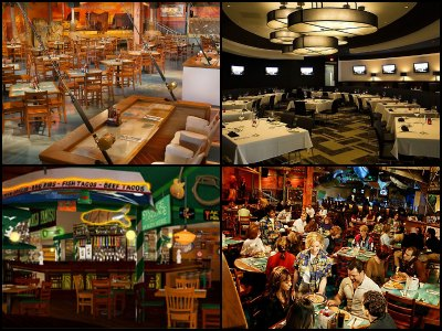 Restaurants at the Flamingo Hotel in Las Vegas