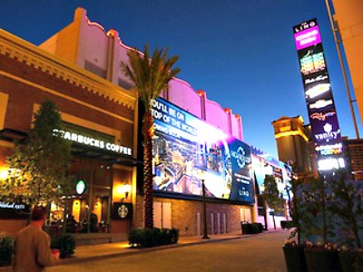 Shopping at the Flamingo Hotel in Las Vegas