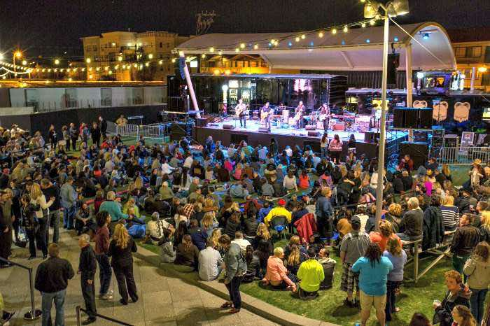 free Las Vegas shows at Downtown Container Park<
