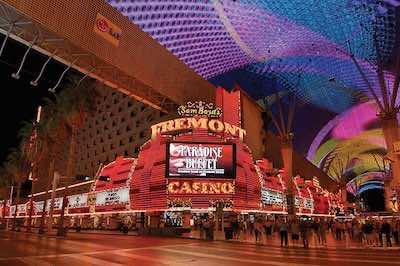Fremont hotel and Casino Las Vegas