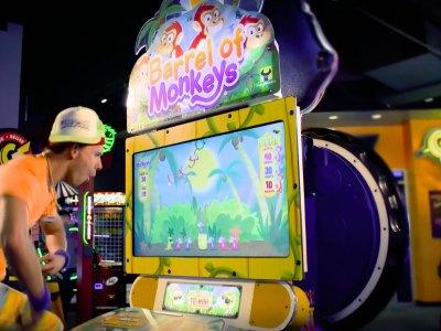 GameWorks in Las vegas with Kids