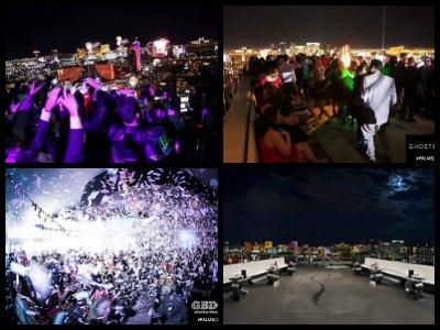 Ghostbar nightclub Las Vegas