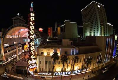 Golden Gate Hotel and Casino in Las Vegas