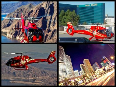 Grand Canyon And Las Vegas Strip Helicopter Tour