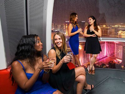 Happy Hour on The High Roller at The LINQ in Las Vegas