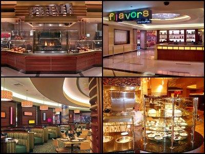 Buffet at Harrah's Hotel in Las Vegas