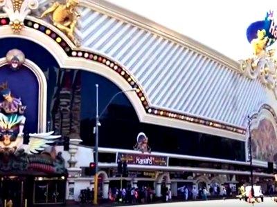 Shopping at Harrah's Hotel in Las Vegas