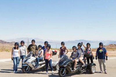 Hoover Dam Trike Tour in Las Vegas