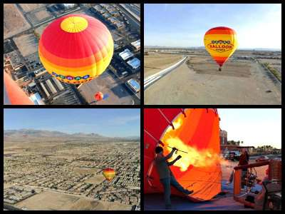 hot air balloon Las Vegas